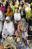 Orações muçulmanas imagem de stock