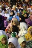 Orações muçulmanas fotos de stock