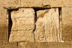 Orações na parede ocidental Fotos de Stock Royalty Free