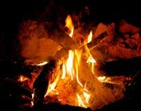 Ora che ` s un fuoco di accampamento! immagine stock libera da diritti