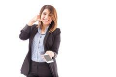 Ora chiamici dal vostro smartphone Fotografia Stock