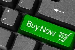 Ora compri i concetti Fotografie Stock