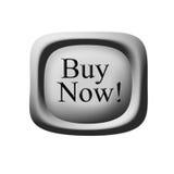 Ora compri il bottone Immagine Stock Libera da Diritti