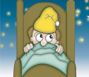 Ora di andare a letto sotto le stelle Immagini Stock