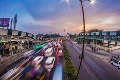Ora di punta di Chennai Fotografie Stock Libere da Diritti