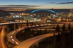 Ora di punta di Seattle Immagine Stock Libera da Diritti