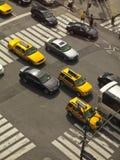 Ora di punta a Manhattan Fotografia Stock Libera da Diritti