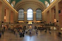 Ora di punta in terminale del treno Fotografia Stock Libera da Diritti