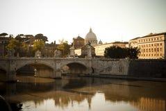 Ora di Rome.Golden Fotografia Stock