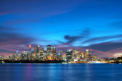 Ora dorata di Sydney Immagine Stock
