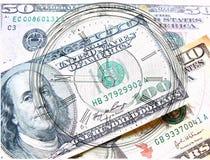 Ora e soldi Fotografia Stock