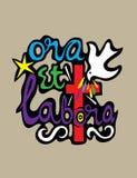 Ora Et Labora Royalty Free Stock Photo