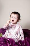 Ora mangi! Fotografia Stock Libera da Diritti