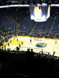 Oracle Arena. Golden State Warriors stock image