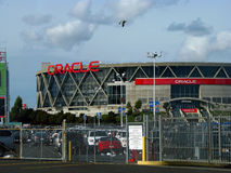 Oracle-Arena in Oakland stock afbeelding