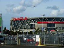 Oracle arena på Oakland fotografering för bildbyråer