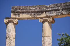 Oracle of Delphi. In Greece Royalty Free Stock Photography