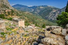 Oracle of Delphi Stock Photos