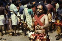 Oracle en el festival de Bharani Fotografía de archivo