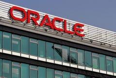 Oracle-Gebäude, in Bukarest, Rumänien lizenzfreies stockfoto