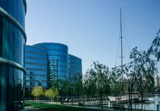 The Oracle Headquarters located in Redwood City Stock Photo