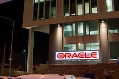 Oracle kontorsbyggnad Royaltyfria Foton