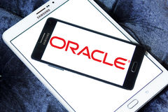 Oracle logo Stock Images