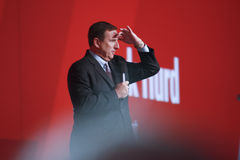 Oracle president Mark Hurd Royalty Free Stock Photos