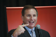 Oracle president Mark Hurd Royalty Free Stock Images