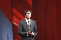 Oracle verkställande vice ordförandeJohn Fowler royaltyfria foton