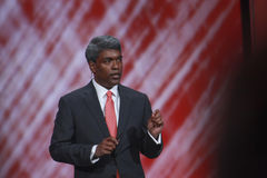 Oracle Vice President Thomas Kurian Royalty Free Stock Photo