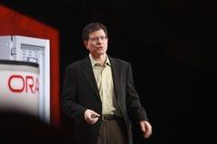 Oracle vice verkställande direktör Andy Mendelsohn royaltyfri fotografi