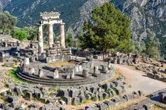 Oracle von Delphi Stockbilder