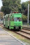 Oradea-öffentlicher Transport Stockbilder