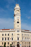 Oradea, Building of The City Hall. Which was built between 1902-1903 in place of the old building of the roman-catholic bishop after the plans and under the Royalty Free Stock Photography