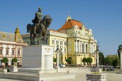 Union Square in Oradea, Romania. Royalty Free Stock Image