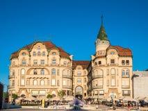 Oradea city center Stock Photos