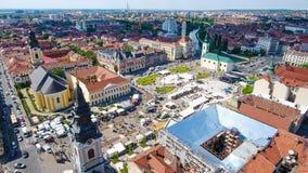Oradea city center Union Square Royalty Free Stock Image