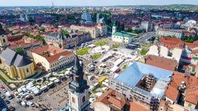 Oradea city center Union Square Royalty Free Stock Images