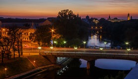 ORADEA CITY VIEW Stock Photo