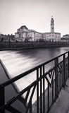 Oradea em preto e branco Fotografia de Stock