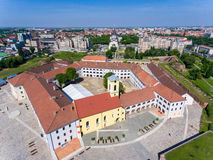 Oradea fortress, now the most important tourist attraction royalty free stock photography