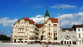 Oradea marknadsställe Arkivfoto