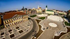 Oradea, quadrado de Unirii Imagem de Stock Royalty Free