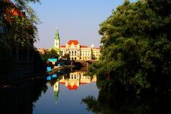 Oradea Rathaus Lizenzfreie Stockbilder