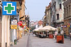 Oradea, Roemenië Stock Fotografie