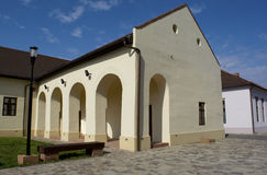 Oradea, Roemenië - 18 kunnen 2016, Citadel Stock Fotografie