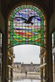 ORADEA, ROMANIA - FEBRUARY 10, 2018: The Black Eagle Palace and Stock Photo