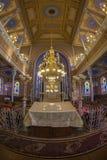 Inside of the Orthodox Synagogue, Oradea, Romania Royalty Free Stock Image