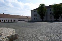 Oradea, Rumania - 18 pueden 2016, ciudadela imagen de archivo